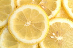 Lemon slices close view Royalty Free Stock Photo