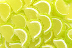 Lemon slices confection Stock Image