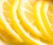 Lemon slices Stock Photos