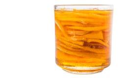 Lemon Slices And Honey III Royalty Free Stock Photography