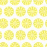 lemon slices seamless pattern for your backgrounds for websites, royalty free illustration