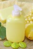 Lemon soap Stock Images