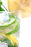 Lemon soda royalty free stock image
