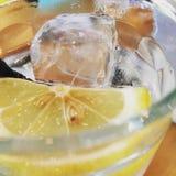 Lemon soda. Drink quenching thirst Stock Photo