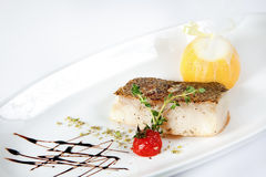 Lemon sole fillet Stock Photography