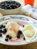 Lemon sorbet Stock Image