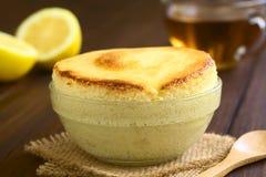 Lemon Souffle Royalty Free Stock Images