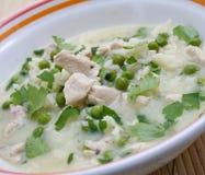 Lemon soup Stock Photo