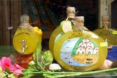 Lemon Souvenirs Positano Italy Royalty Free Stock Photography