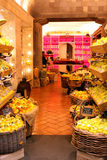 Lemon Souvenirs shop Sorrento Italy. Lemon and Lemoncello souvenirs of the Amalfi Coast Stock Image