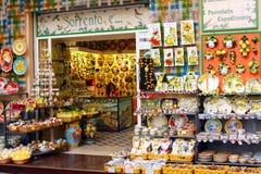 Lemon Souvenirs Sorrento Italy Stock Photo