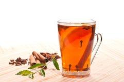 Lemon spiced tea Stock Photo