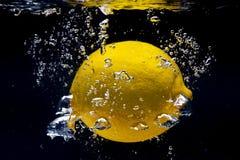 Lemon splash Royalty Free Stock Photos