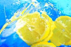 Lemon splash Royalty Free Stock Images