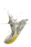 Lemon Splash Royalty Free Stock Photos