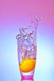 Lemon splash Stock Photos