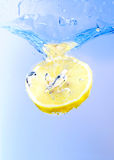 Lemon Splash stock photography