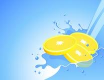 Free Lemon Splash Stock Photo - 8334360