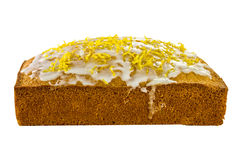 Lemon Sponge Cake Royalty Free Stock Photography