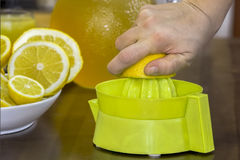 Lemon Squeeze Stock Photos