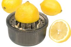 Lemon-squeezer Stock Image