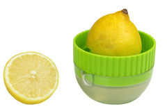 Lemon squeezer Royalty Free Stock Photos