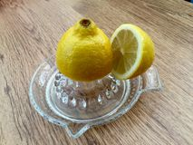 Lemon squeezer Stock Images