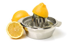Lemon-squeezer Royalty Free Stock Photo