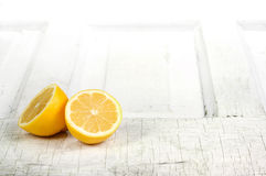 Lemon still life Stock Photo
