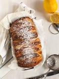 Lemon sweet bread Stock Images