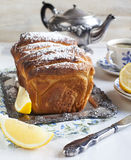 Lemon sweet bread Royalty Free Stock Photos