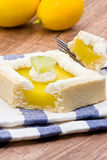 Lemon tart Royalty Free Stock Images