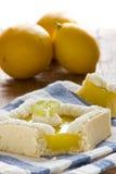 Lemon tart Stock Photography