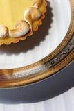 Lemon tart Royalty Free Stock Image