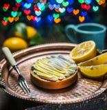 Lemon tart. Cooking of lemon dessert. Blurred festive background. Lemon tart. Cooking of lemon dessert. Blurred heart festive background stock photo
