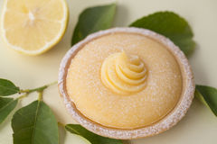 Lemon Tart Dessert Stock Photography