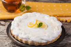 Lemon tart Stock Photos