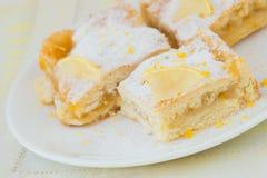 Lemon tart Stock Photo
