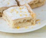 Lemon tart Stock Image