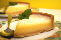 Lemon tart Stock Photo