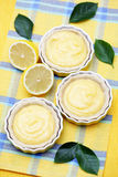 Lemon tartelette Royalty Free Stock Images