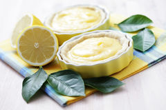 Lemon tartelette Stock Images