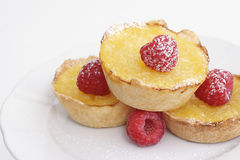 Lemon tarts Royalty Free Stock Images