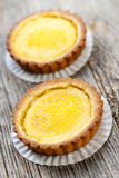 Lemon tarts Stock Photography
