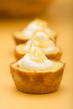 Lemon Tarts Stock Photo