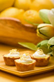 Lemon Tarts Royalty Free Stock Image
