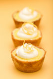 Lemon Tarts Stock Image