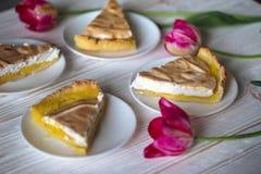 Lemon tarts Stock Photo