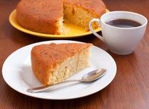 Lemon tasty homemade cake Stock Photo