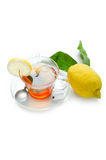 Lemon tea Stock Photo